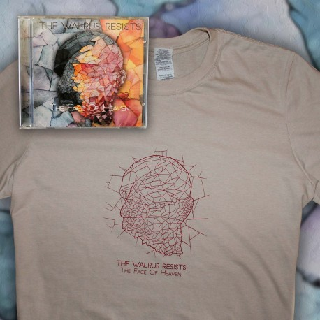PACK The Walrus Resists - CD + T-SHIRT - The Face Of Heaven Pack