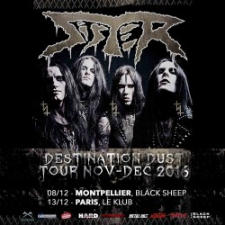 Tickets Show - SISTER + GUEST - 8th, December 2016