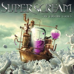 Superscream - The Engine Cries - Album CD