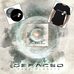 Pack Defaced - CD album + Tshirt + Badge
