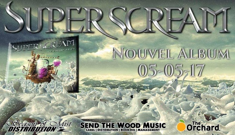 Superscream : Nouveau disque The Engine Cries